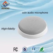 SIZHENG-micro de vidéosurveillance   Sécurité audio, prise vocale, pour salles de classe et salle de conférence