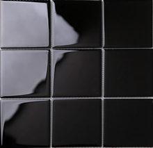 1 caja (11 hojas) nuevo estilo moderno mosaico de vidrio azulejos de porcelana de baño iridiscente hoja de cocina backsplash art deco