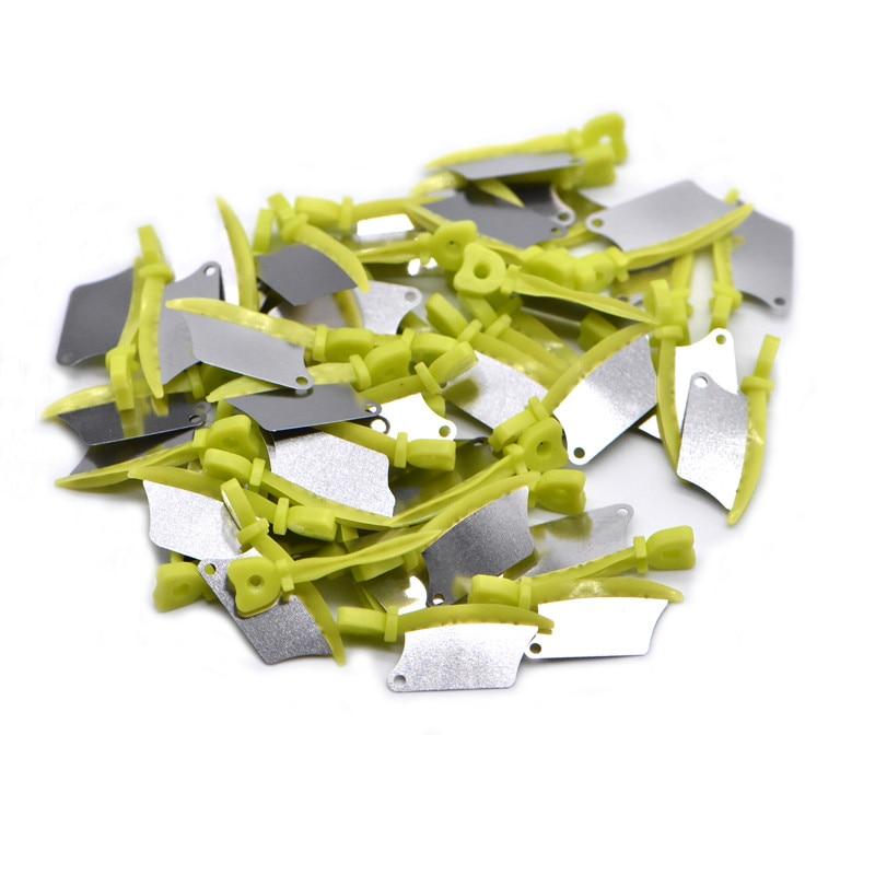 Новый стоматологический Клин Ножи 40 шт./кор. prime зубы межзубных пластиковый Клин Ножи для стоматологий со стоматологической нержавеющая ста...
