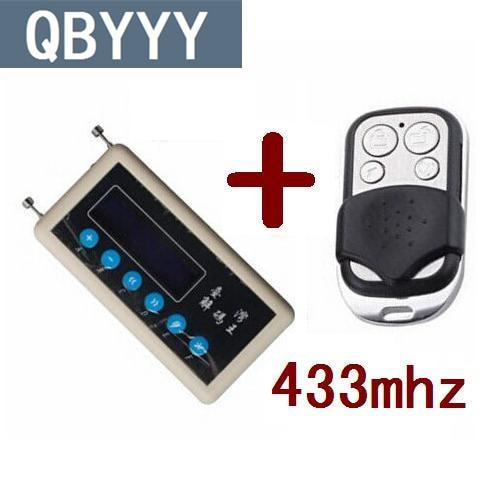 Copia de control remoto QBYYY 433mhz escáner de código remoto de coche + copia de control remoto de puerta de coche 433mhz A002 CNpost