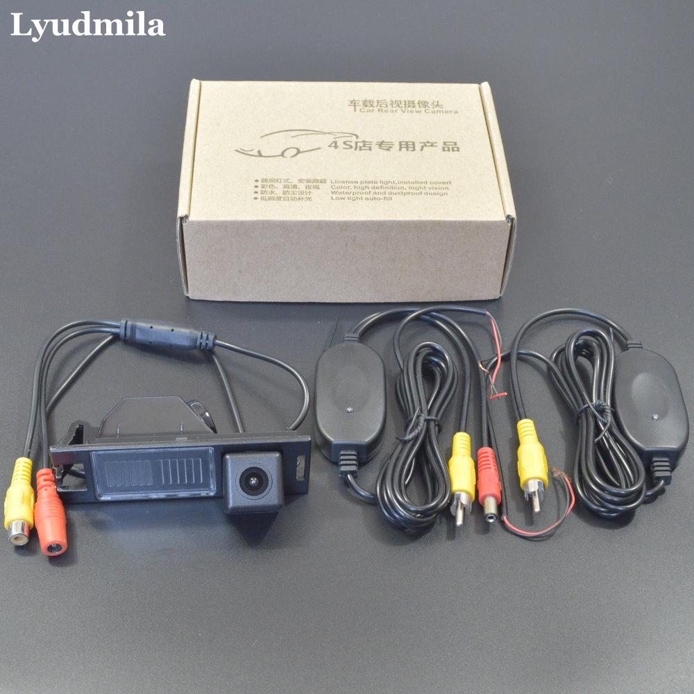 Беспроводная камера для Hyundai ix35 IX 35 Tucson 2009 ~ 2013 Автомобильная камера заднего вида/HD CCD ночное видение