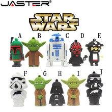 JASTER offre spéciale bande dessinée mémoire flash interface lecteurs flash USB2.0 4GB 8GB 16GB 32GB 64gb Robot Star Wars tous les styles lecteur de stylo