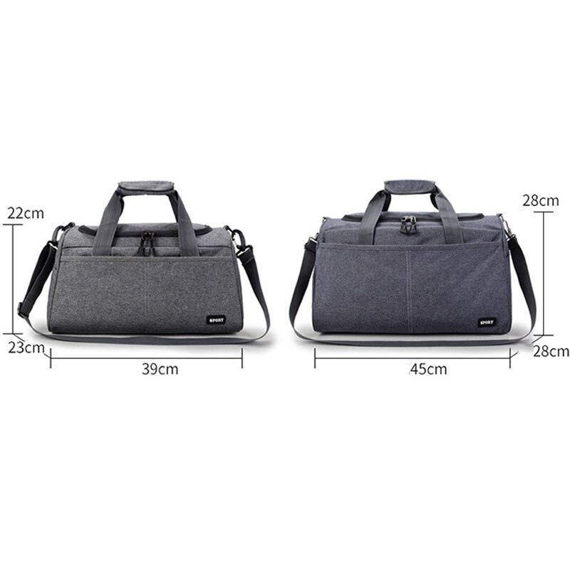 Travel Bag Large Capacity Duffle Bags Men Women Business Travel Oxford Totes New Big Hand Shoulder Luggage Weekend Bags L S