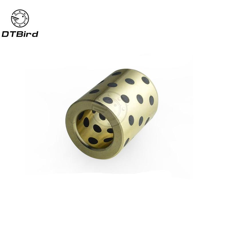 5 piezas JDB JDB081215 081215 8x12x15mm grafito lubricante latón cojinete casquillo manga envío gratis alto calidad