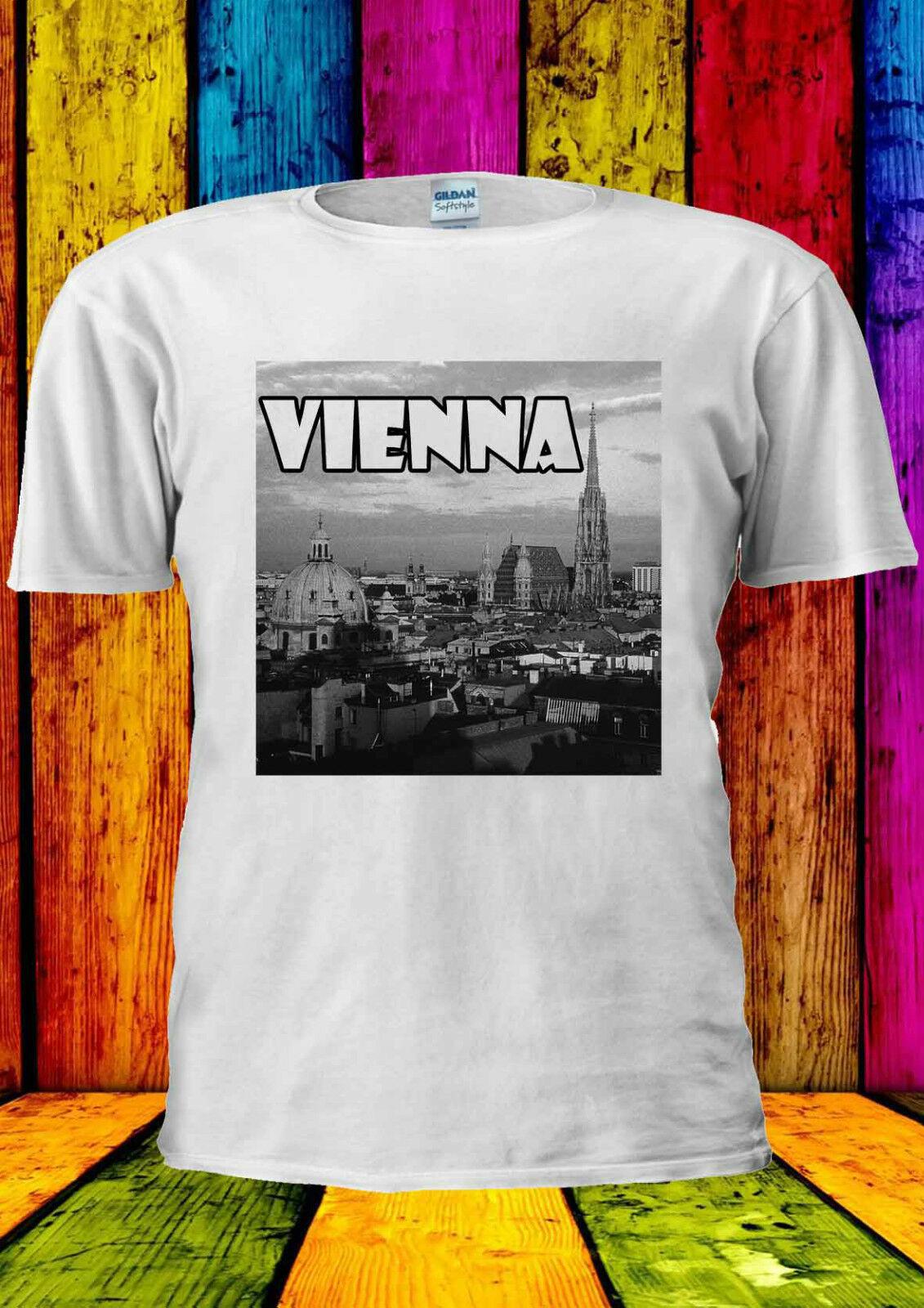 Vienna Austria Dream City Tumblr camiseta chaleco hombres mujeres Unisex 1517 nuevas camisetas, camiseta de moda para hombre 2019