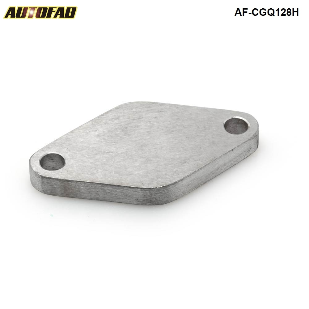 35mm & 38mm externo turbo wastegate blanking placa flange de aço inoxidável 304 AF-CGQ128H