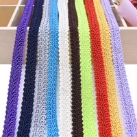 5 meter 12mm centipede lace ribbon braided curve lace trim fabric for wedding garment decoration diy clothes sewing accessories