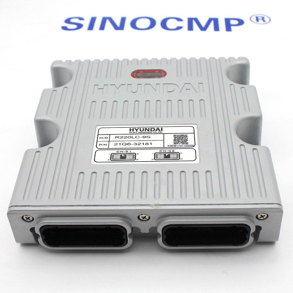 Controlador MCU 21Q6-32150 para Hyundai R220LC-9S, 1 año de garantía