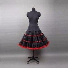 65 CM halka rockabilly podkoszulek krynoliny krótki kobieta Mini ślubna suknia ślubna dla sukien ślubnych Rockabilly Tutu