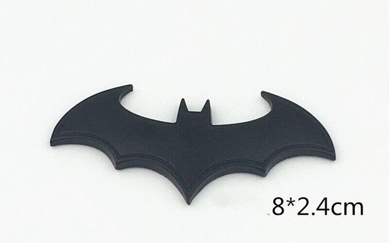 Pegatinas de coche 3D de Metal Batman insignia emblema para DACIA clave logan Duster sandero lodgy sandero stepway dokker logan 2