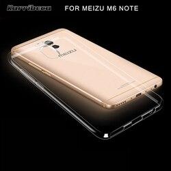 Прозрачный ультра тонкий Тонкий силиконовый чехол на Meizu M6 Note чехлы прозрачная ТПУ бампер на мейзу m6 ноте мизу M6 меня m6 нот чехол ясный тонен...