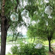 Vase en verre suspendu de 10CM   Terrarium dexposition de plantes à Air succulentes, Globe décoratif en verre transparent suspendu, Terrarium de plantes à Air 100 pièces