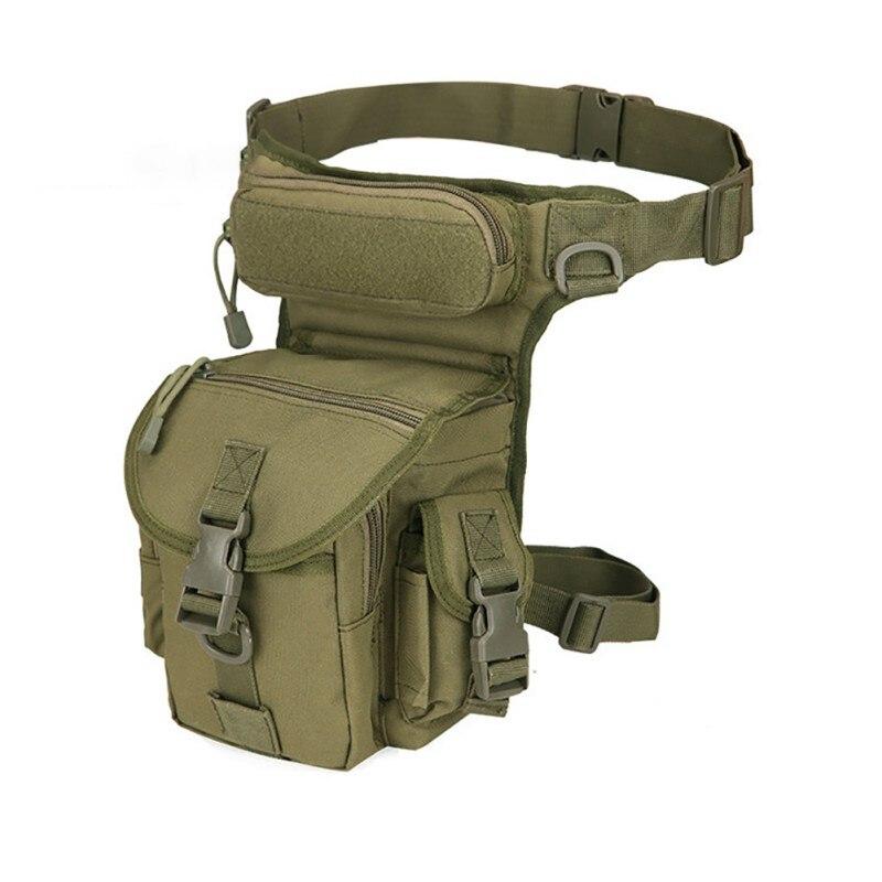 2019  Waist Military travel Multi-purpose Messenger Shoulder Bags Adjustable Deta  Fanny Pack Belt Hip Bu Men Canvas Drop Leg Ba