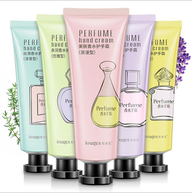 Perfume nutritivo para manos, crema hidratante, nutritiva, Anti Chapping, loción para manos blanqueadora, 30g