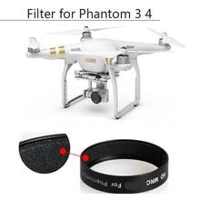 Installation rapide filtre à lentille CPL filtre circulaire pour DJI Phantom 3 3S SE 3A 3P 4K Phantom 4 filtre dobjectif de caméra Drone