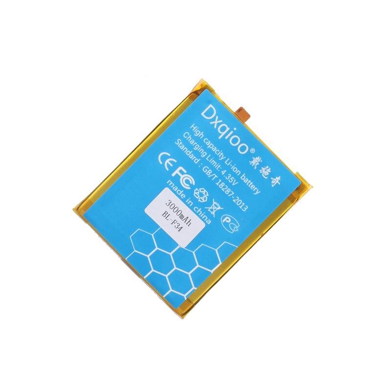 Dxqyoo BL-F34 batería de teléfono móvil apta para baterías de teléfono inteligente PHICOMM 2S BL-F34