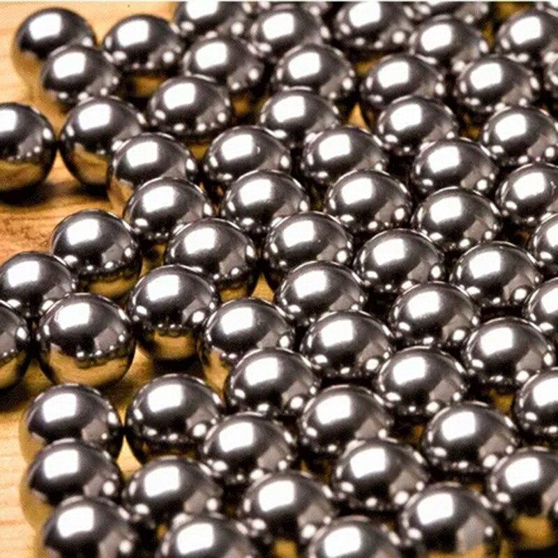 60 uds 6mm 7mm 8mm 9mm bola de acero para la caza de tirachinas de calidad de acero inoxidable catapulta