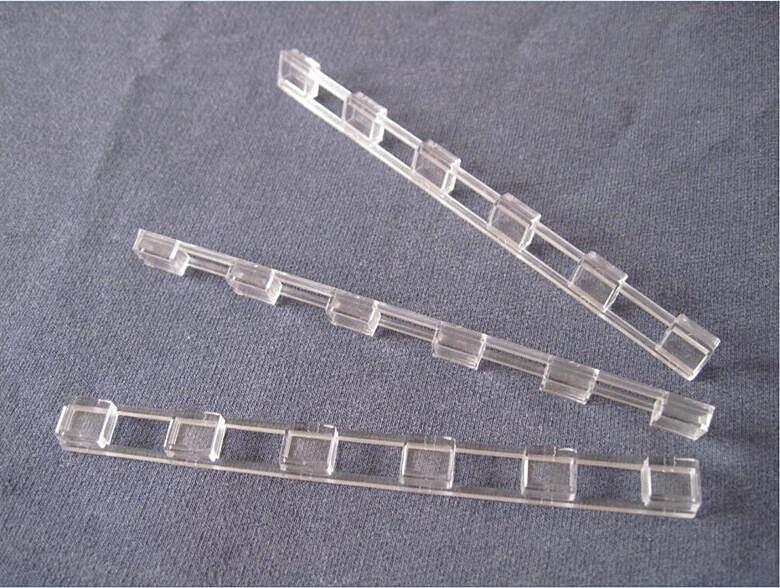 # PUIM-10 Hohe qualität 5050 Led-linse, Conjoined objektiv, größe 109X10X4,1mm, winkel 180 grad, saubere Oberfläche, PMMA materialien