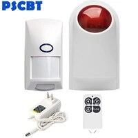 PSCBT sans fil Garage alarme sirene systeme maison cambrioleur alarme entrepot magasin entrer alarme capteur Spot securite alarme sirene systeme