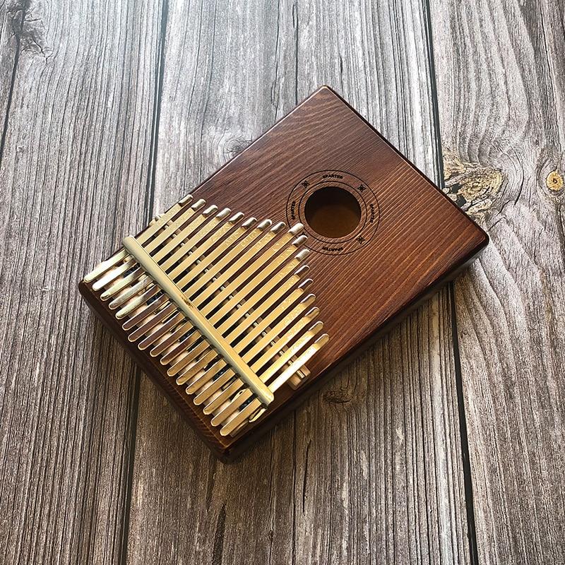 17 Keys Kalimba Mbira Sanza Likembe Thumb Piano Rosewood Instrument Traditional African Music Instruments 17 tone enlarge