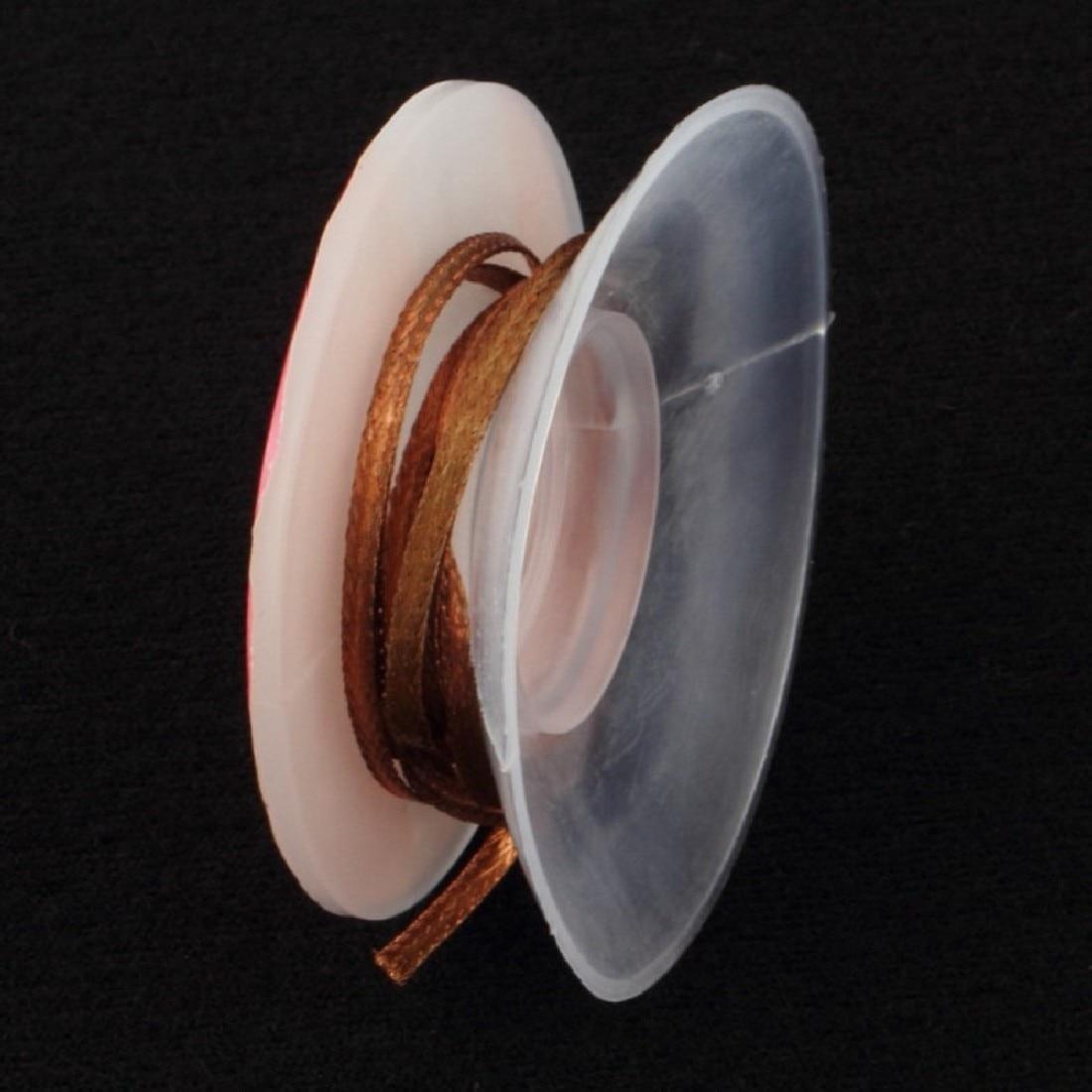 Демонтажный фитиль 1,5 м 2,0 мм оплётка для снятия фитиль BGA бюстгальтер для демонтажа по всему миру