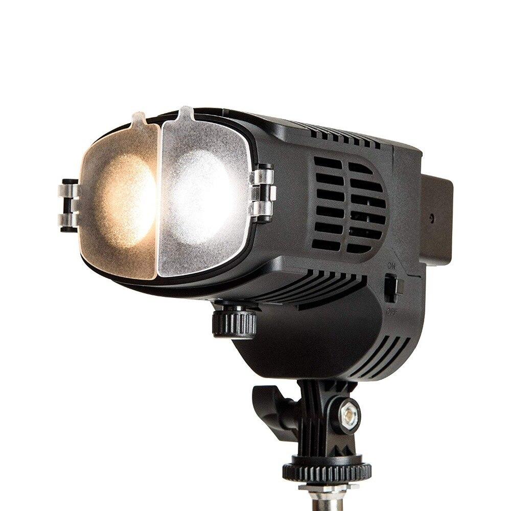 Luz LED Fresnel NanGuang CN20FC para estudio profesional de cine y fotografía para cámara o trípode CD50
