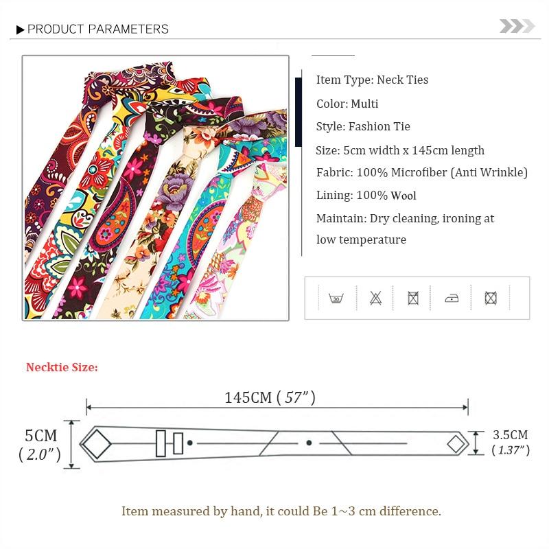 2020 New Fashion Casual Print Neck Ties For Men Silk Designer Brand Necktie 6CM Slim Tie  Groom Marriage Neckties with Gift Box