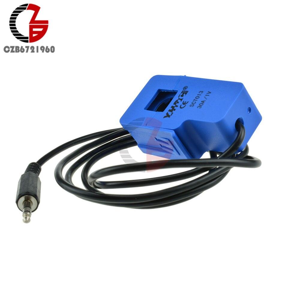 SCT-013-030 de transformateur de courant de noyau fendu de capteur de courant alternatif Non invasif de 30A SCT-013