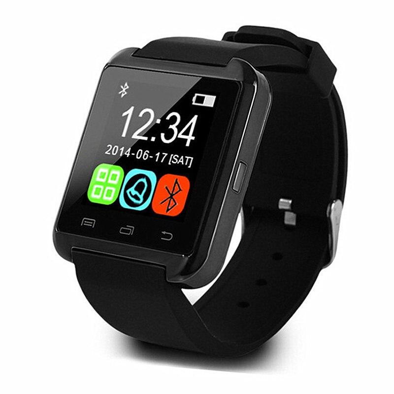Reloj inteligente Bluetooth con cámara PK U8 GT08 reloj inteligente para hombre DZ09 pulsera inteligente para IOS Android reloj de uso de teléfono regalo de Navidad