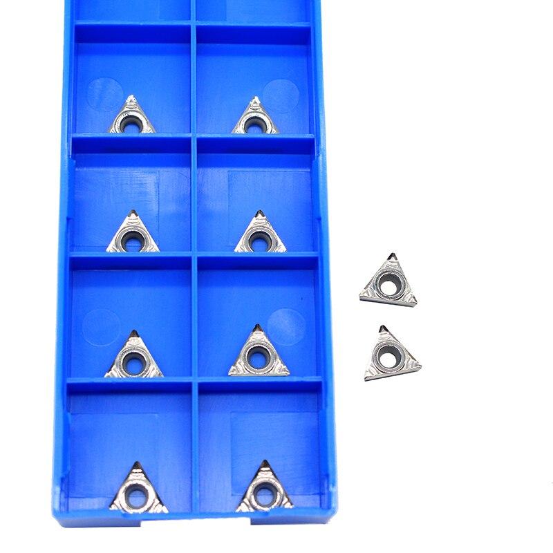 TCGT090204 AK H01 TCGT 090204 cuchilla de aluminio para insertar herramienta de corte herramienta de torneado Herramientas CNC AL + madera de aleación de estaño