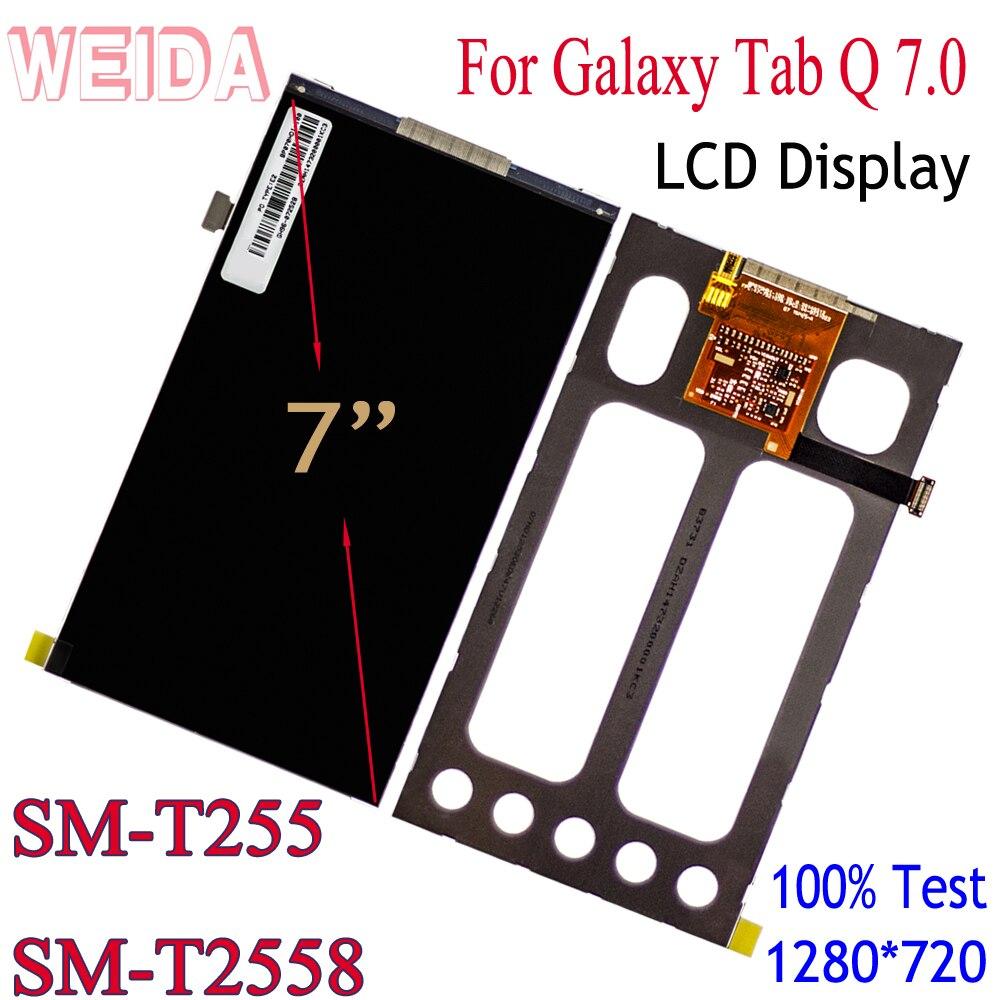 "WEIDA LCD Replacment 7 ""Für Samsung Galaxy Tab Q 7,0 T255 T2558 LCD Display Ohne Touch"