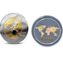 2018 1 sztuk Ripple coin XRP CRYPTO pamiątkowe Ripple XRP kolekcjonerskie monety prezent