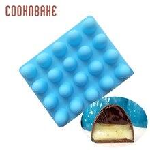 COOKNBAKE de silicona molde para pastel Pastel redondo puddding gelatina molde de caramelo de hielo herramienta para hornear pasteles molde para jabón o hielo galleta, pan formas
