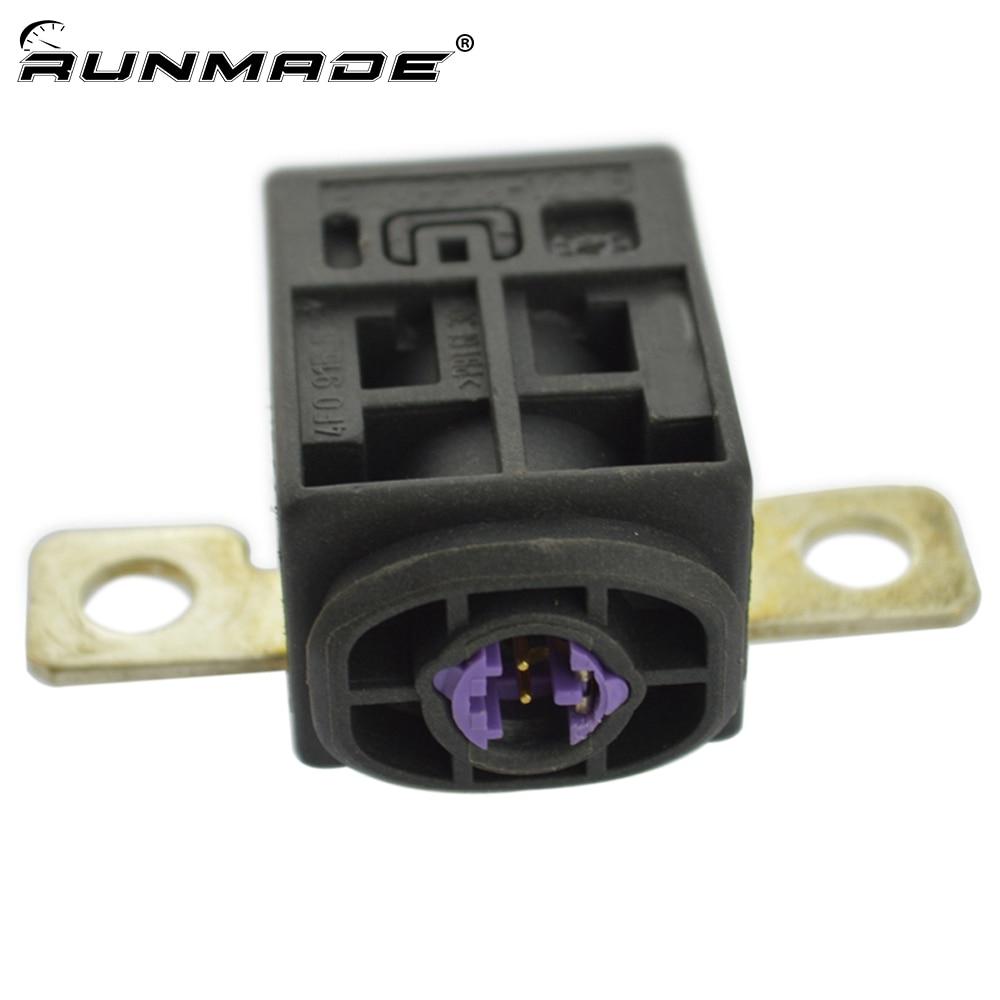 Runmade caja de fusibles de la batería de corte de sobrecarga de protección de viaje para Audi Q5 A5 A7 A6 VW Skoda 4F0915519 4F0 915 519
