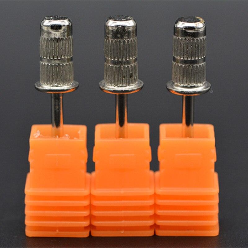 3 pçs/lote 2.35 Mandril Haste de Esmeril Prego Furadeira Elétrica Broca Shank Diâmetro do Tambor de Lixa Manicure Pedicure Ferramentas Acessórios