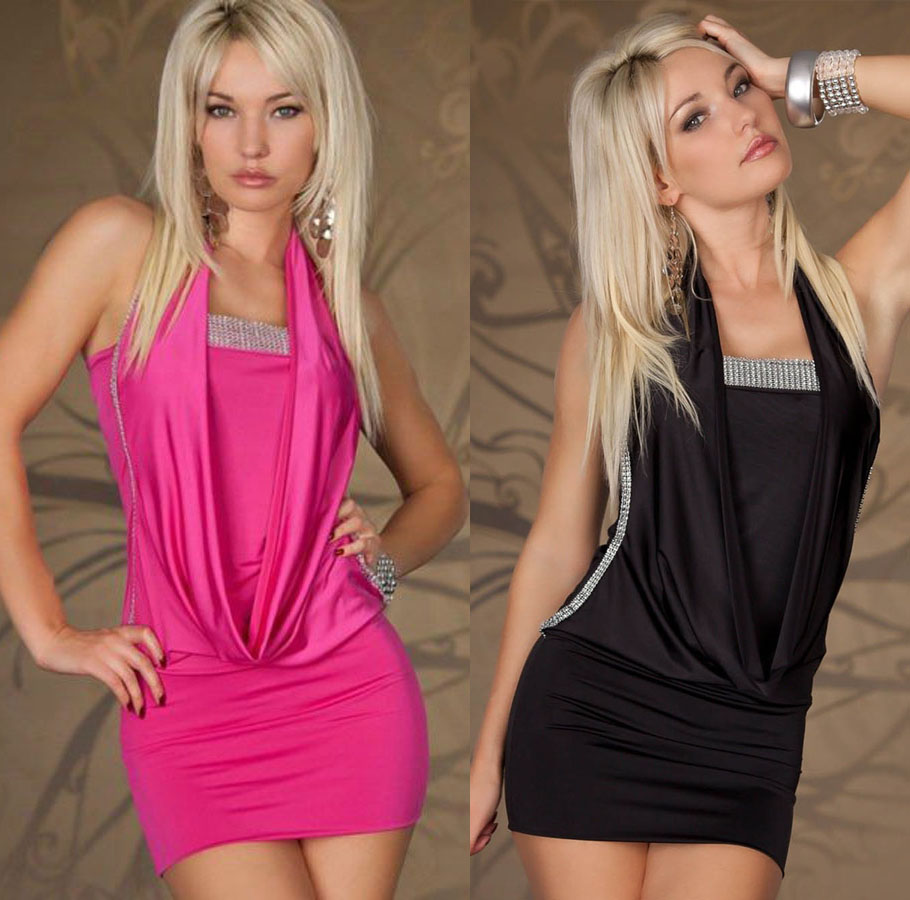Сексуальное мини-платье без рукавов, повседневное облегающее платье большого размера