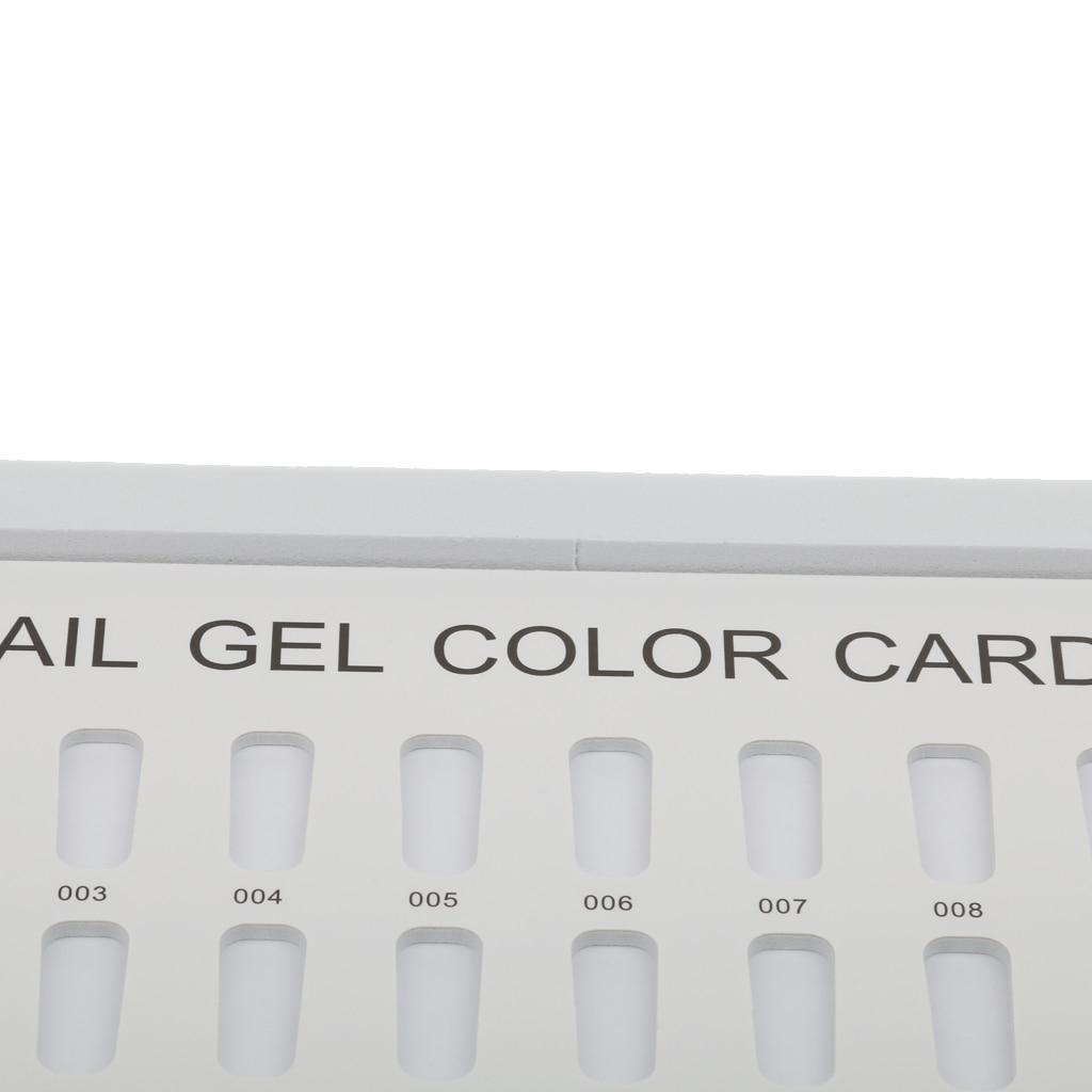 180 colores esmalte de uñas en Gel Tabla de libros arte de uñas salón UV azul oscuro