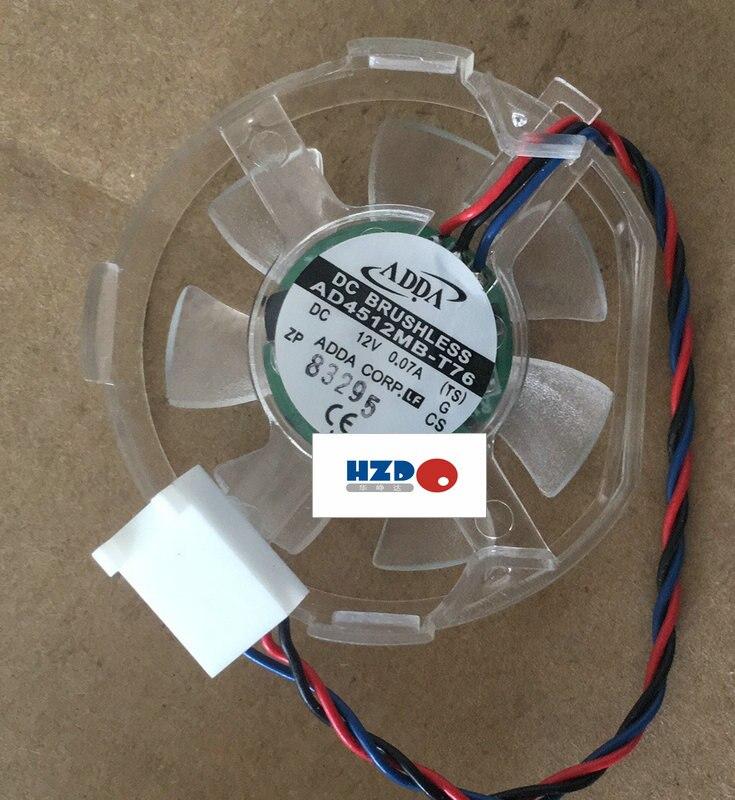 ADDA 4510 V 0.07A 12 AD4512MB-T76 3 FIOS Ventilador De Refrigeração