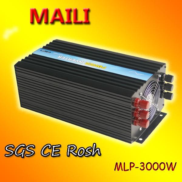 Inversor de onda sinusoidal pura 3000 W/inversor de frecuencia 3kw/micro inversor