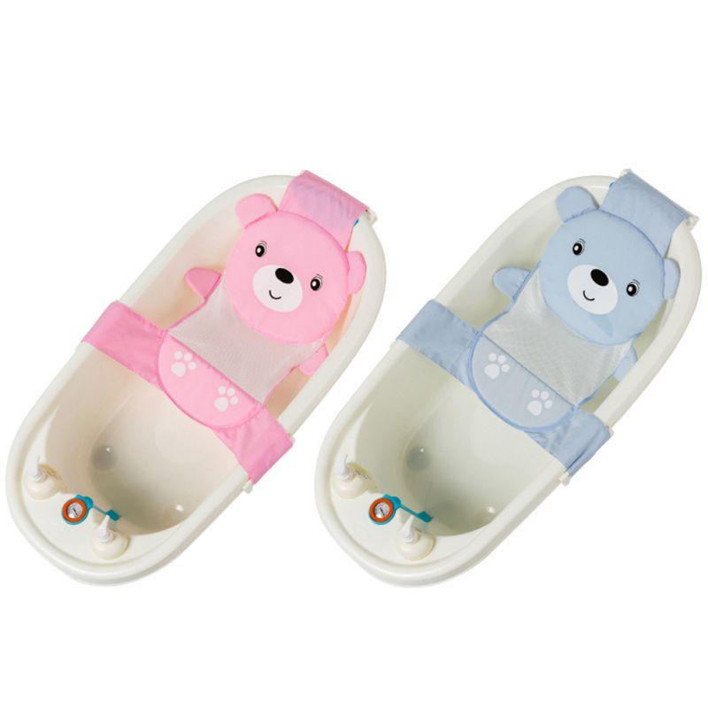 Los niños ajustable bebé Asiento de baño Red de baño para bebés baño seguridad asiento de bebé niño niña tinas de baño de asiento de Ducha