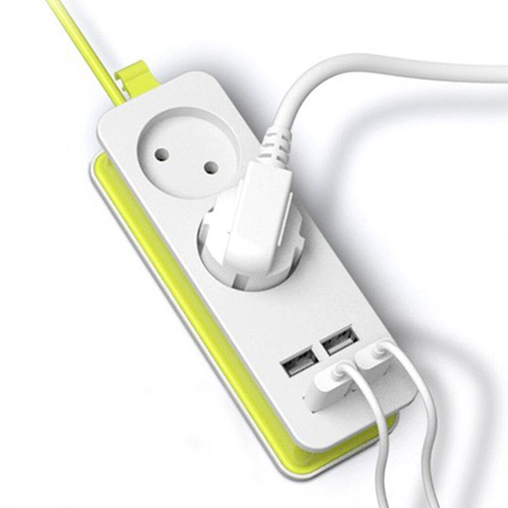 Штепсельная Вилка европейского стандарта, 2 штепсельные вилки переменного тока, дорожный адаптер, 1200 Вт, несколько портативных 4 usb-порта, зарядное устройство, разъем 1,5 м для смартфонов, планшетов