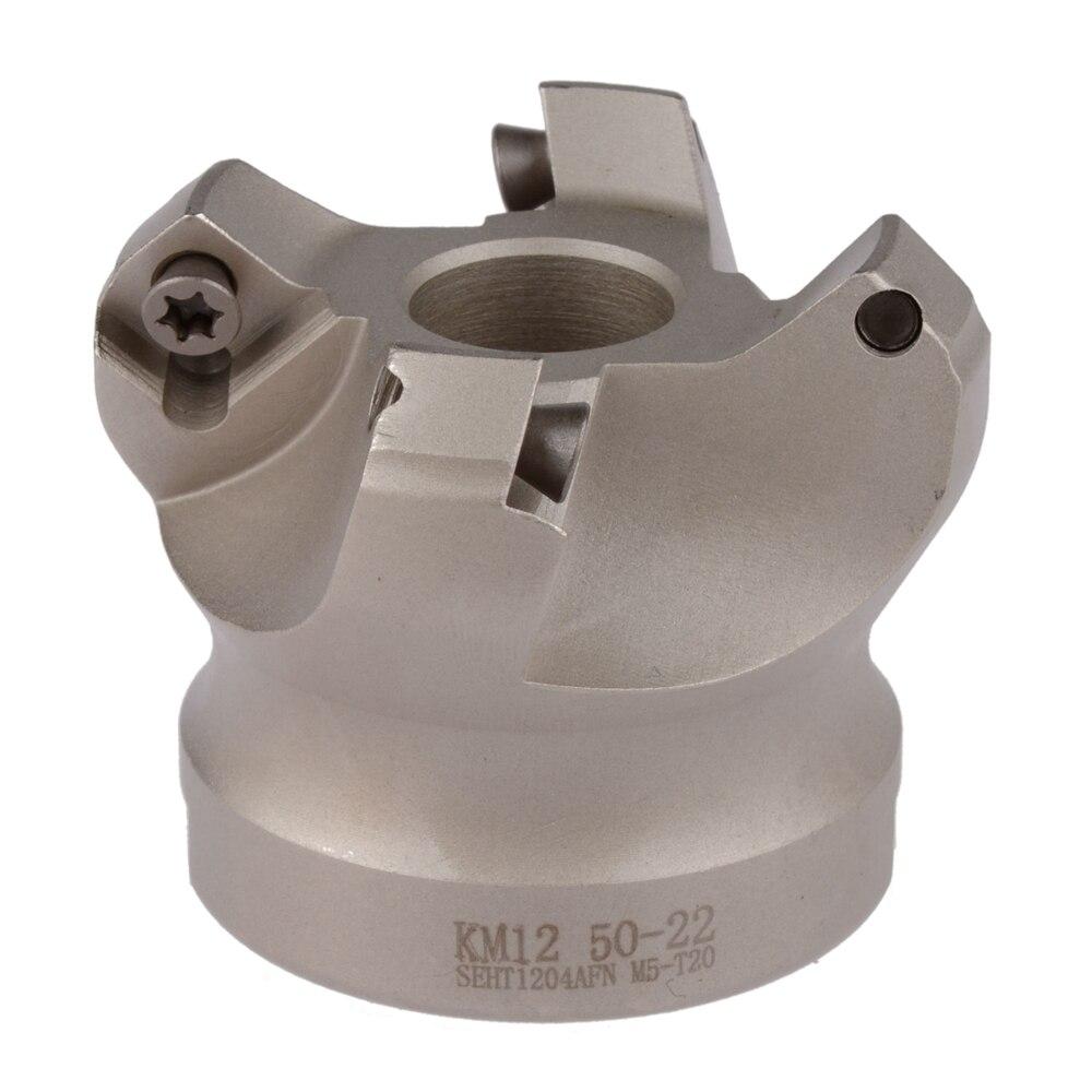 KM12 50-22-4T 45 grados cabeza de corte del molino del hombro para SEHT1204