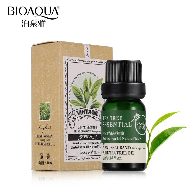 Aceites naturales de árbol de té de marca bioaqua, aceites esenciales puros para masaje de fragancia de aromaterapia para el cuidado del cuerpo y la piel