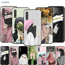 Исламский мусульманский чехол Lavaza Hijabi для девочек для Samsung Galaxy S6 S7 Edge J6 S8 S9 S10 Plus A3 A5 A6 A7 A8 A9 Note 8 9