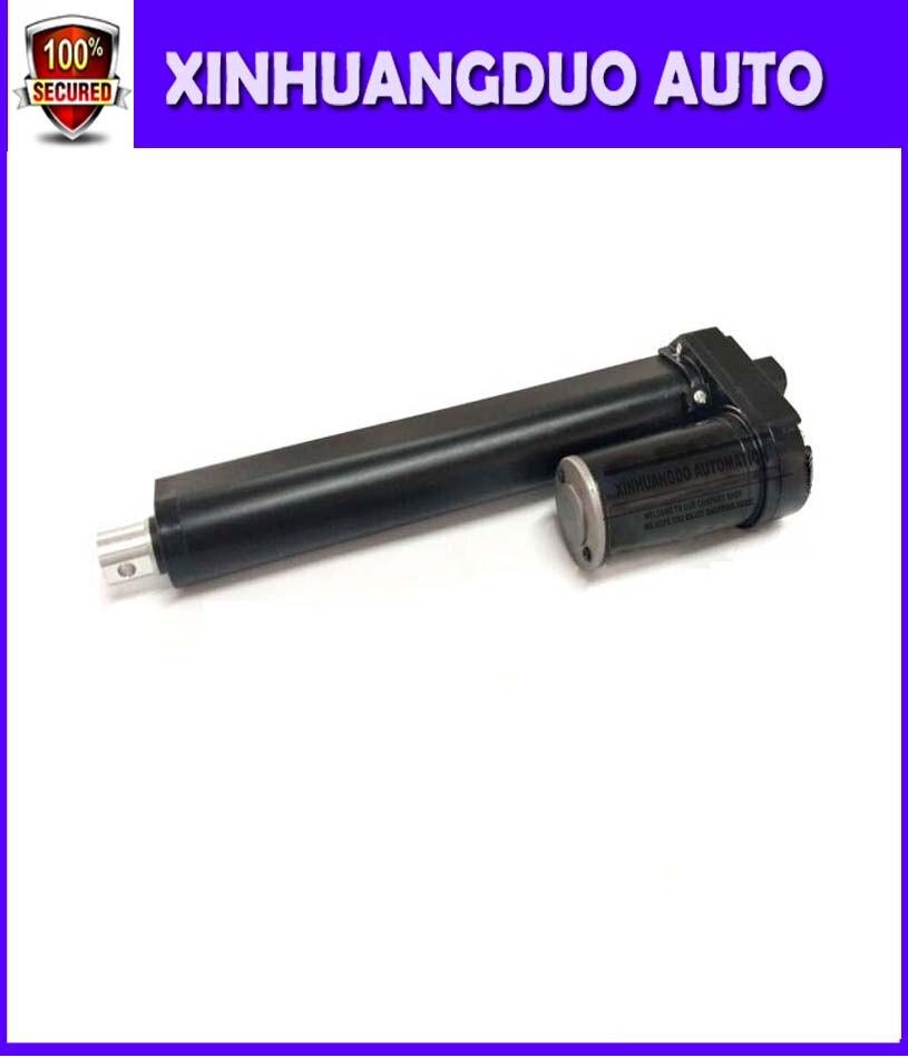 Actuador lineal eléctrico de carga de alta resistencia 3500N/770LBS, mini actuador lineal de carrera de 12/24V CC de 8 pulgadas/200mm con alta calidad