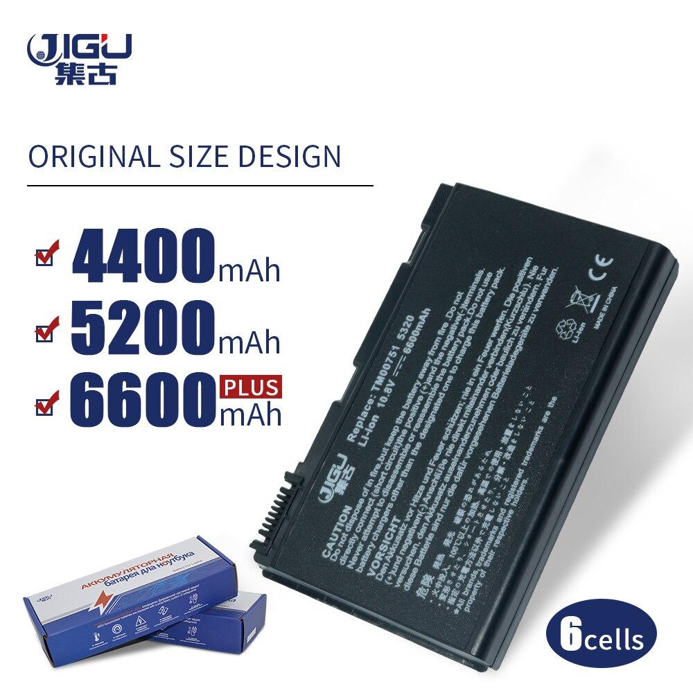 JIGU de batería para Acer Extensa 5220, 5235, 5620, 5630, 7620 TravelMate...