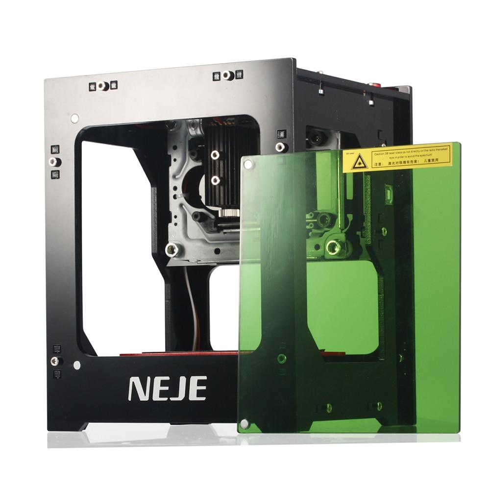 Profesional DIY NEJE DK-8-KZ 2000/3000mW escritorio Mini CNC cortador de grabado láser grabado madera enrutador de máquina cortadora