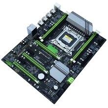 X79T Ddr3 Pc komputery stacjonarne główna płyta główna Lga 2011 komputera Cpu 4 kanałowy obsługa rozgrywki M.2 E5-2680V2 I7 Sata 3.0 Usb 3.0 dla Intel B
