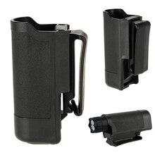 IKVVT Nylon Holster Holder Belt Case Bag Pouch Carry For LED Flashlight Torch