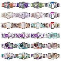 Peinture diamant 5D  maison douce   perceuse carree ou ronde  bricolage  combinaison multi-images  broderie  mosaique  decor  5 pieces